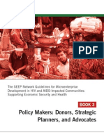 SEEP Guidelines Book 3 for Policy Makers
