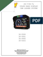 AEM CD-7 Dash 30-5500-5501-5502-5503