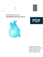 INFORME TP Analisis Microbiologico de Aguas