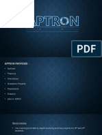 Summer Training in Noida | APTRON Solutions