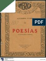 Poesías Seleccionadas e Inéditas (Alfonsina Storni 1920)