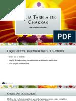 Guia Tabela de Chakras