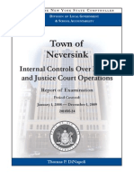 New York State Comptroller Audit of the Town of NeverSink