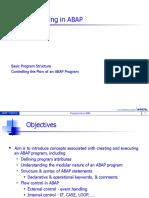 Programming in ABAP