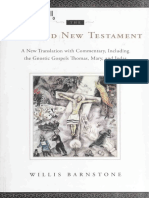 WILLIS BARNSTONE- The Restored New Testament a New Translation With Commentary, i, 2009