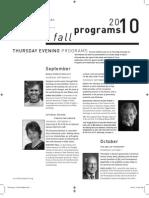 Fall 2010 TSA Program PRINT