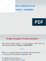 Design Strength of Tension Members