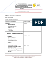 Planificación Anual 4 Medio PSU