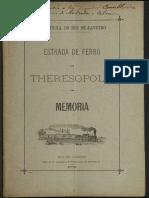 ESTRADA DE FERRO - THERESOPOLIS