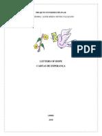 Projeto interdisciplinar CARTAS DE ESPERANÇA
