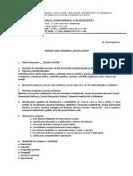 Anexa Model Raport Finalizare Scoala Altfel