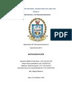 Informe de Telecomunicaciones 1