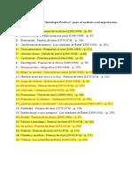 Lista de Poemas Para Analisis e Interpretación