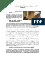 10 Pensamientos Del Papa Francisco Para Vivir La Navidad