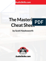 Mastering Cheat Sheet