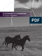 FEI Sustainability Handbook for Event Organisers
