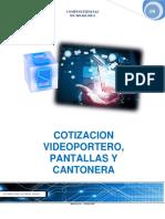 Cotizacion Video Portero