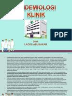 makalah epidemiologi klinik