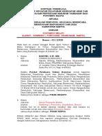 Kontrak Swkelola Posyandu 2018