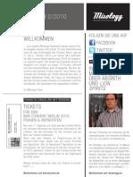 Mixology Newsletter #2 2010