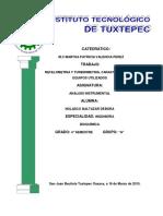 Nefelometria y Turbidimetria