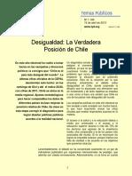 Libertad y Desarrollo - Desigualdad La Verdadera Posición de Chile.pdf