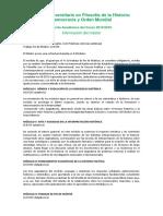 Oferta Academica Filosofia Historia 15-16