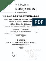 Charles Comte - Tratado de Legislación.pdf