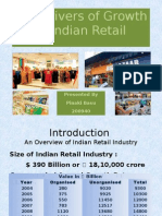 Key Drivers of Growth in Indian Retail
