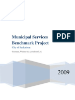 Municipal Services Benchmark Report 2009 Final