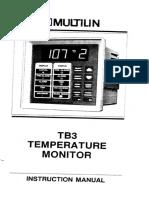 Multin TB3 Temperature Moniter
