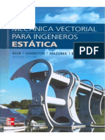 Mecanica Vectorial Para Ingenieros Estatica - Edicion 9 - Beer, Johnston Esp