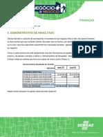 Finanças - Demonstrativo de Resultado