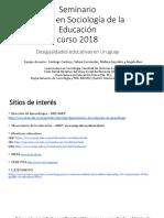 Desigualdad Educativa en Uruguay - 1