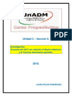 Unidad 2 – Sección 6 – Actividad 1 y 2