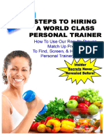 10 Steps to Hire World Class Trainer