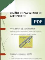 Diseño de Pavimento de Aeropuerto