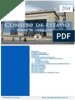 Boletin 204 Del Consejo de Estado