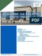 Boletin 205 Del Consejo de Estado