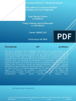 El Petroleo-metodologia de La Investigacion