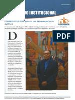Boletín 15 Abril 2018 Informativo Institucional de CONAFOVICER, al servicio de los trabajadores en construcción civil del Perú