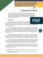 Riojas Santisteban - Autonomía del delito de lavado de activos o el delito previo como elemento normativo del tipo. A propósito de la Sentencia Plenaria Casatoria N° 01-2017_CIJ-433