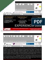 Clase 2 Vivienda_ Nivel Urbano - Nivel Edilicio DA III 2009