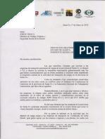 Carta a Jorge Triaca - Conflicto Sindicato-Federacion - Con Firmas - May2018
