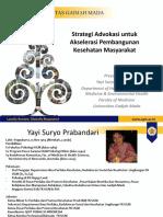 Kuliah Umum Advokasi - disampaikan  oleh Yayi S Prabandari Dept HBES FK UGM.pptx