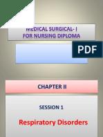Session 1- Respiratory Failure