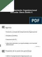 1 Sesión Comportamiento Organizacional 2018 I