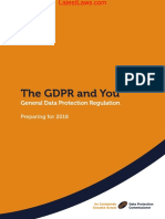General Data Protection Regulation, 2018