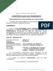 Certificado de Posesion-felix Carhuamaca Damas
