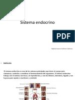 Sistema Endocrino Expo de Histologia 2018